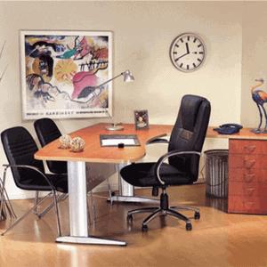 שולחנות משרדיים מנהלים ומזכירה