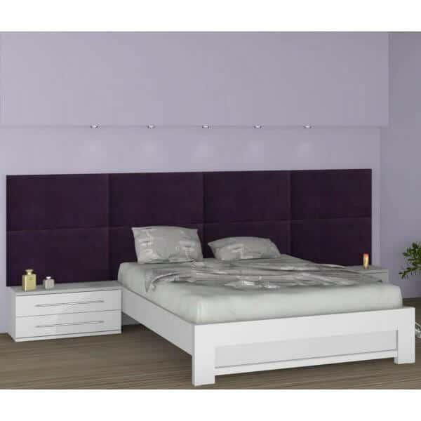 מיטה זוגית כולל 2 שידות ר.א דגם 396