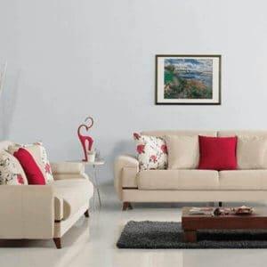 חדר המגורים - הסלון
