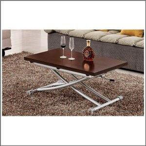 שולחן טרנספורמר N-4 ק.ר חום