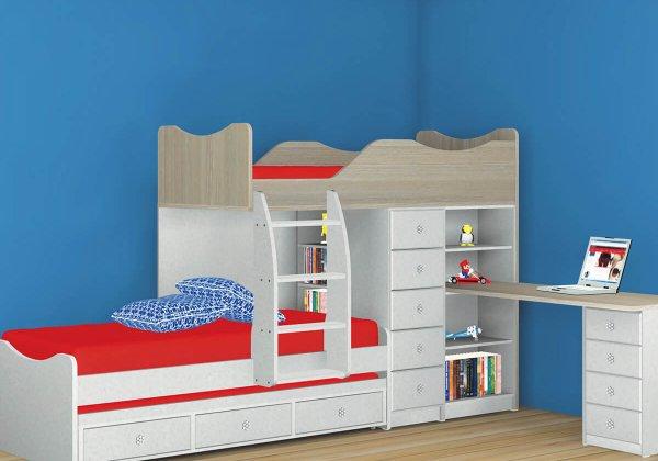 מיטות ילדים,קומותיים ומשולשות